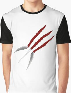 Wolverine Claws Graphic T-Shirt