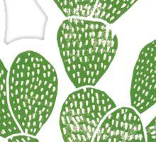 Linocut Cacti #1 Sticker