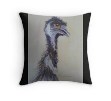 Emu - Hows About A Date, Honey? Throw Pillow