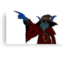 Masters of the Multiverse - Orko the traitor Canvas Print