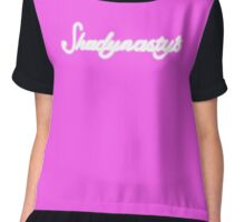 Shadynasty's Neon Sign Chiffon Top