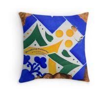 Breaking Patterns Throw Pillow