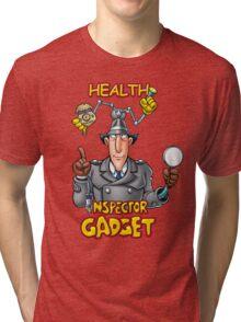 Health Inspector Gadget Tri-blend T-Shirt