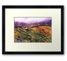 Highland Hideaway Framed Print