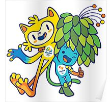 Olympics in Rio Janeiro 2016 Poster