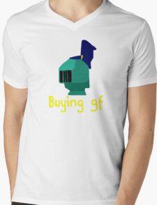 Buying GF Mens V-Neck T-Shirt