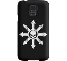 Mark of Chaos Distressed White Samsung Galaxy Case/Skin