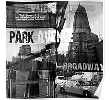 New York Collage II Poster