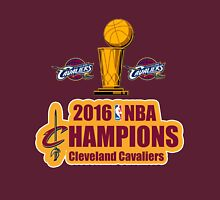 Cleveland Cavaliers Champions NBA 2016 Unisex T-Shirt