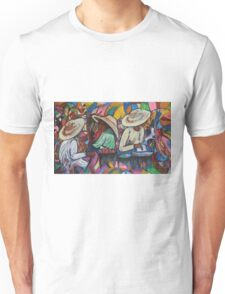 """In the market"" Unisex T-Shirt"