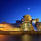 Nights of the Guggenheim Museum - Bilbao by Hercules Milas