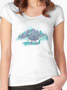 Mountain Trekking Women's Fitted Scoop T-Shirt