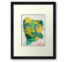 Ink Painting Framed Print