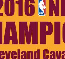 Cleveland Cavaliers Sticker