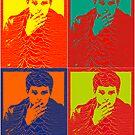 Ian Curtis Pop Art by borstal