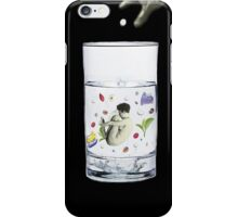 half a cup of coffee, and half a cup of camomile iPhone Case/Skin