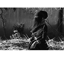 Lady Photographic Print