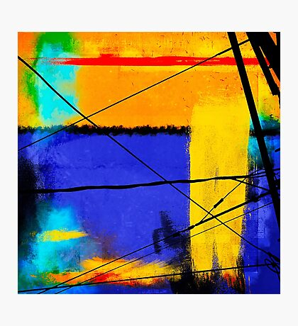 Companion Abstract Photographic Print