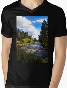 Rio Tomebamba, One Of Cuenca's Four Rivers Mens V-Neck T-Shirt