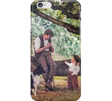 The shepherd and the child and fairy stories iPhone Case/Skin