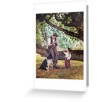 The shepherd and the child and fairy stories Greeting Card