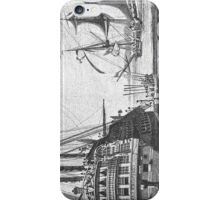 The Ships at Port iPhone Case/Skin