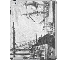 The Ships at Port iPad Case/Skin