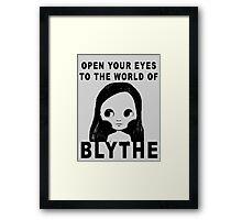 Blythe Doll Framed Print