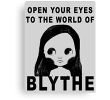 Blythe Doll Canvas Print