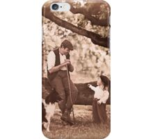 The shepherd and the child and fairy stories. III iPhone Case/Skin