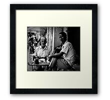 The tailor Framed Print