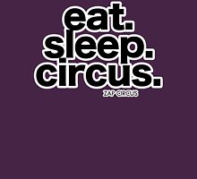 Eat. Sleep. Circus. Womens Fitted T-Shirt