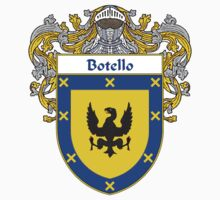 Botello Coat of Arms/Family Crest One Piece - Short Sleeve