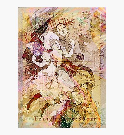The Dancer and the Pierrot Photographic Print