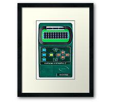 Classic Football 2 Framed Print