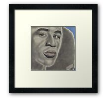 Arguably the greatest boxer of his era ... Framed Print