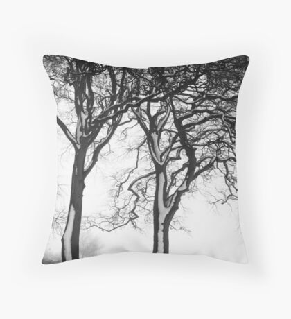 A winters tale Throw Pillow