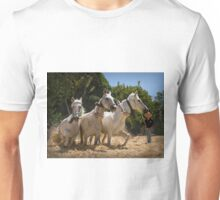 Threshing the corn by horse Unisex T-Shirt
