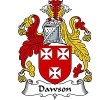 Dawson Coat of Arms / Dawson Family Crest Photographic Print
