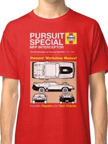 Haynes Manual - Mad Max - T-shirt Classic T-Shirt