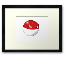 Pokemon Voltorb Framed Print