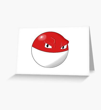 Pokemon Voltorb Greeting Card
