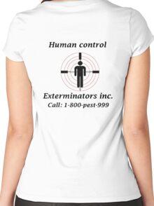 Exterminators Women's Fitted Scoop T-Shirt
