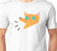 loud shouting orange fox  Unisex T-Shirt