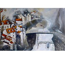 Light on Roxby Beck, Staithes Photographic Print