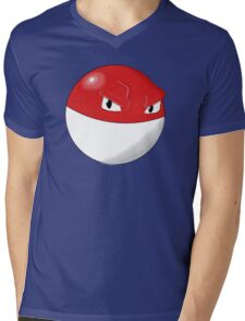 Pokemon Voltorb Mens V-Neck T-Shirt
