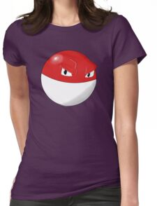 Pokemon Voltorb Womens Fitted T-Shirt