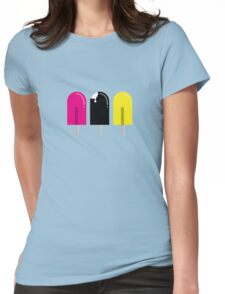 Ice pops Womens Fitted T-Shirt