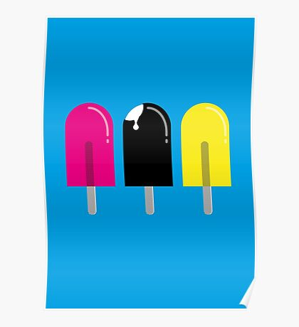 Ice pops Poster