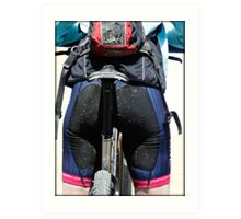 Making Butts by Bike  Art Print
